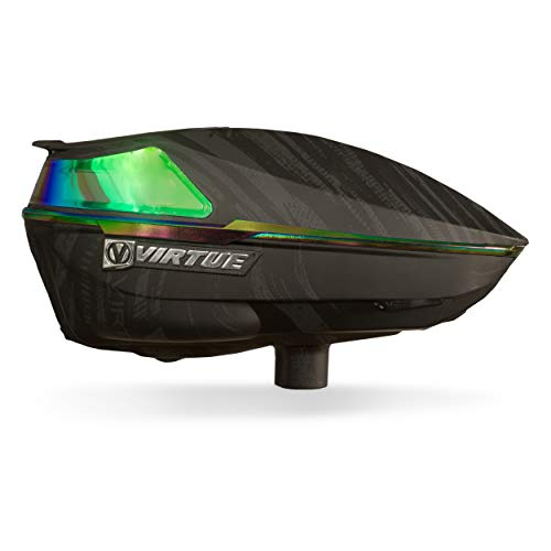 Virtue Spire 4 Paintball Loader, Graphic Emerald