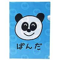 [A4 クリアファイル]フラット ファイル/ぱんださん