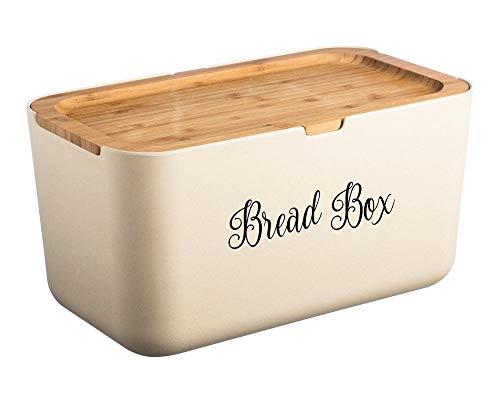 Bread Box - V2 Vinyl Decal Sticker - Kitchen Breadbox Bread Bin