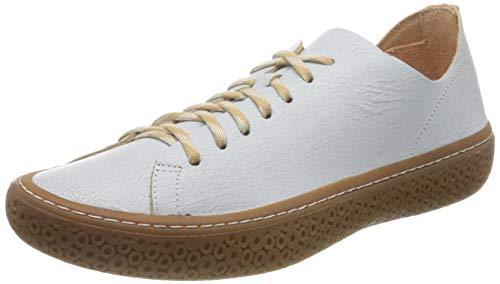 Think! Damen TJUB_3-000195 chromfrei gegerbte, nachhaltige Wechselfußbett Sneaker, 1000 Bianco, 39 EU