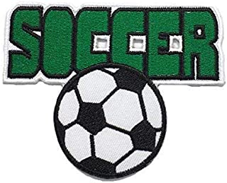 Soccer Football DIY Fashion Applique Embroidered Sew Iron on Patch p#369