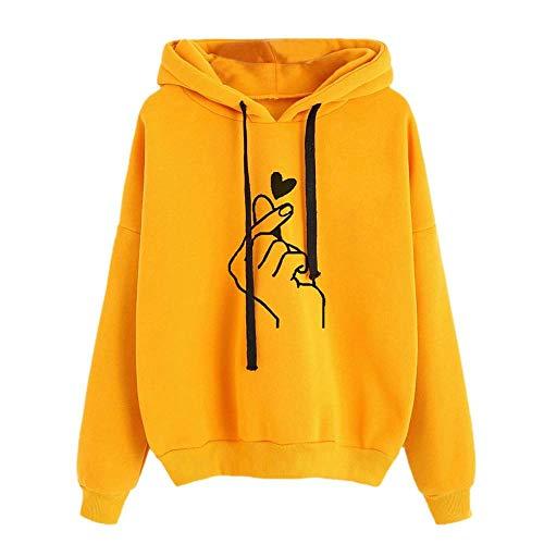 General purpose Sweatshirt Druck Damen Langarm Hoodie Pullover Shirt Frauen @ M