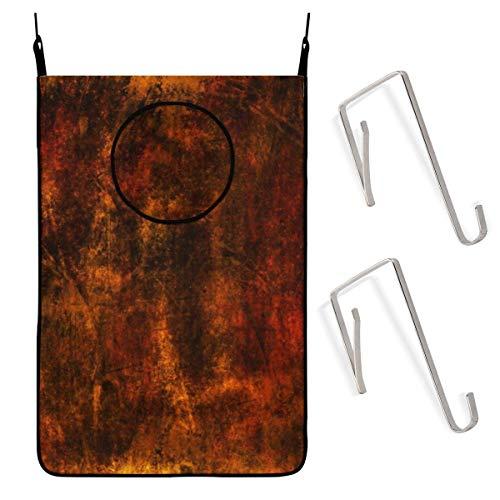 Cesto de lavandería Colgante Textura de Pared metálica Abs