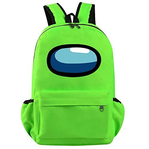 BATEKERYAS Among Us Games School Bag Backpack Lightweight Computer Backpack Boys and Girls School School Bags 16.53in×7.08in×13.77in