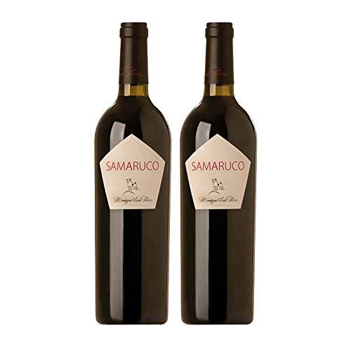 Vino Tinto Samaruco de 75 cl - D.O. Cadiz - Bodegas Luis Perez (Pack de 2 botellas)