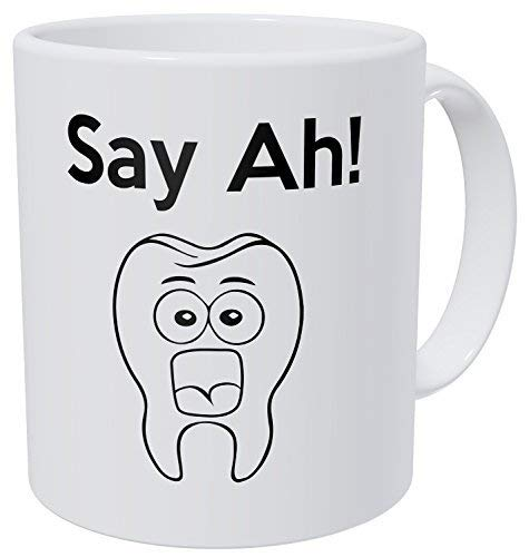 Zeg Ah! Tandarts Tand 11 Ounces Grappige Koffie Mok