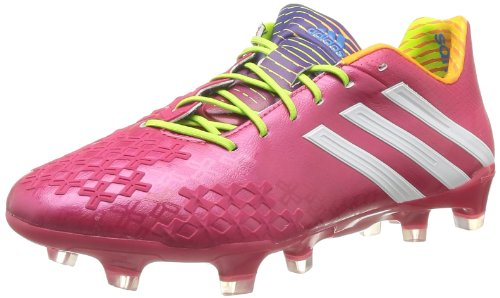 adidas Herren Predator Lz TRX Fg Fußballschuhe, Pink-Rose (Fravif/Blanc/Solsli), 42 EU