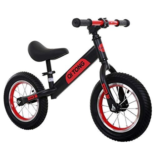 Longer Kids Balance Bike,Baby Walking Stride Bike,12'' Carbon Steel Frame Training Bicycle,For 2, 3, 4 Year Old Boy/Girls (Color : E)