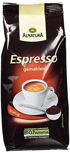 Alnatura Bio Espresso, gemahlen, 5er Pack (5 x 250 g)