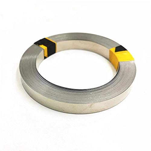 TECNOIOT 1 roll 5 Meter Pure Nickel Strip 99.96% 0.1mmx5mm for Battery Spot Welding Nickel Belt