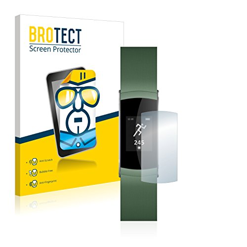 BROTECT Schutzfolie kompatibel mit Wiko WiMate (2 Stück) klare Bildschirmschutz-Folie