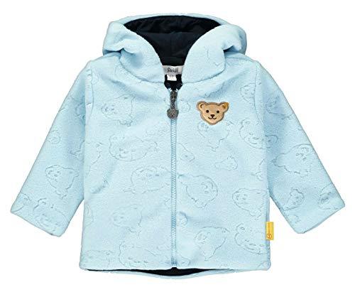 Steiff Baby Fleecejacke Ju.Bärprint Größe: 086 Farbe: hellblau
