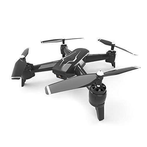Kayak® Drone, Control De Detección De Gravedad Regalo Juguete, Altura Fija De Cuatro Ejes, Plegable, Modo Sin Cabeza Juguete Duradero Apto para Uso Interior O Exterior Fácil De Llevar,Negro
