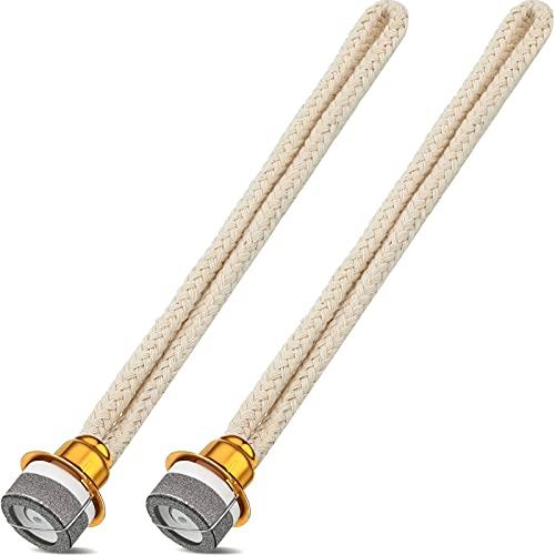 2 Mechas de Lámpara de Aceite Reemplazo de Mecha de Lámpara de Aceite de Fragancia Mecha de Lámpara de Quemador Catalítico de Control de Aire para Difusor Aromaterapia, 6,3 Pulgadas
