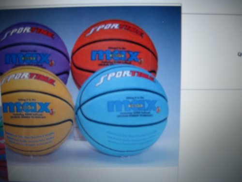 Lowest Price! SportimeMax Junior Basketball Orange Set of 6