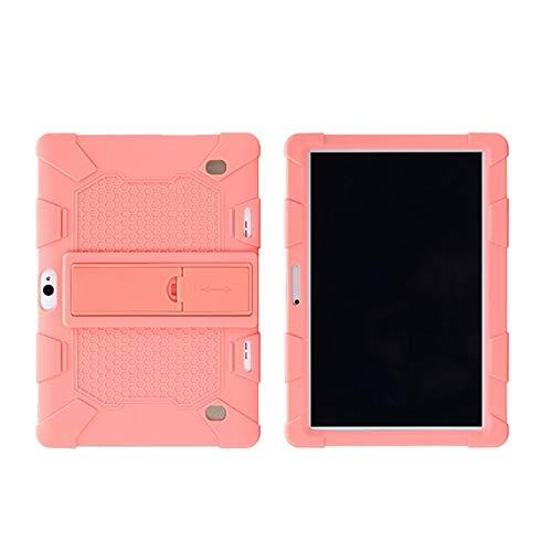 Dacitiery Funda universal de silicona a prueba de golpes con soporte para tablet PC de 10,1 pulgadas, funda protectora con soporte (PK)
