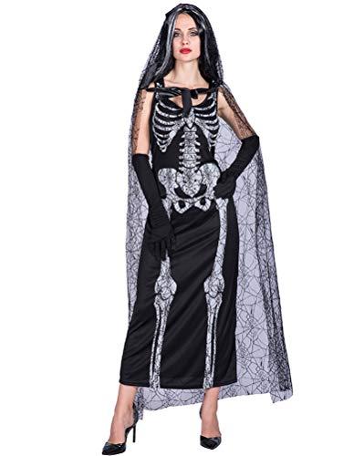 Showlovein Disfraz de telaraña para mujer, para Halloween