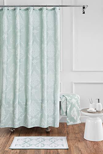 Croscill Juno Bath Shower Curtain, 54x78, Seafoam