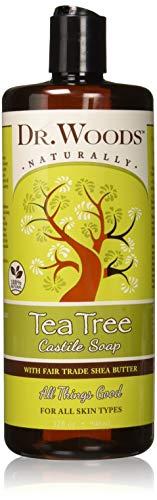 Dr.woods Shea Vision Pure Tea Tree Castile Soap - 32 Oz