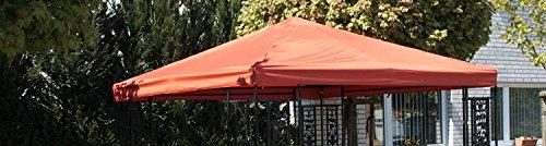 Vervangend dak voor paviljoen 3 x 3 m - vervangend paviljoendak groen polyester 230 g/m2