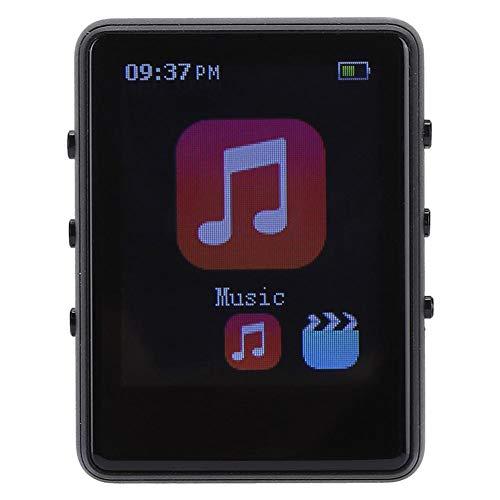 Bluetooth MP3-speler, 8 GB 1,8 inch video-mp3-speler Ingebouwde luidspreker met oortelefoon, 22 uur afspelen, ondersteuning voor AMV/AVI