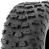 SunF A030 XC Sport AT 22x10-8 ATV UTV Knobby Tire, 6 PR, Tubeless, Trail + Dirt Track + Desert