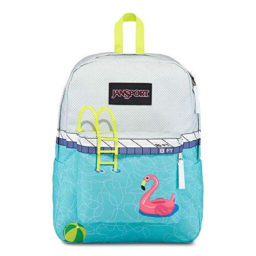 JanSport High Stakes School Backpack - Fun Pack Filled With Personality | Pool Zone