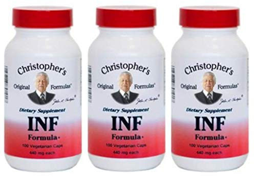 INF Formula (Formerly Infection Formula), 100 Caps (3 Pack)