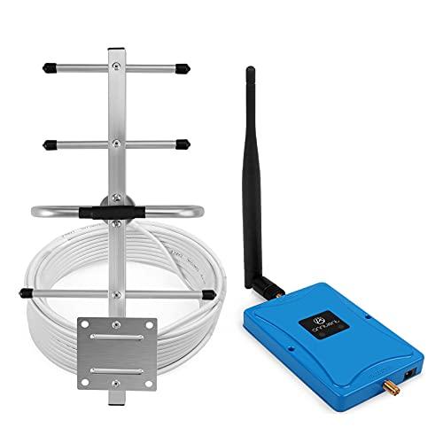 ANNTLENT Mobilfunk Verstärker GSM 3G 900MHz Bande8 Handy Signalverstärker 3G Daten GSM Verstärker Alle Netze T-Mobile,Vodafone,E-Plus GSM Repeater Ländliches Hause