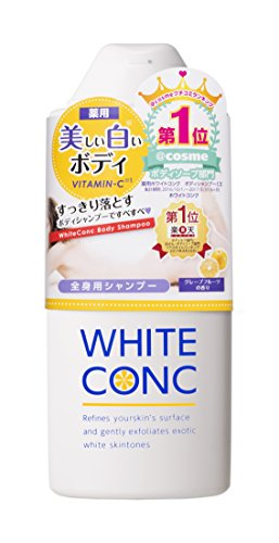 White Conc Moisturizing and Skin Whitening Body Wash from Japan for Women 12.2 fl oz
