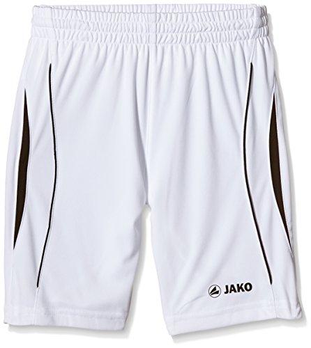 JAKO Wembley - Pantalón Corto Deportivo para niño Multicolor Blanco/Negro Talla:3
