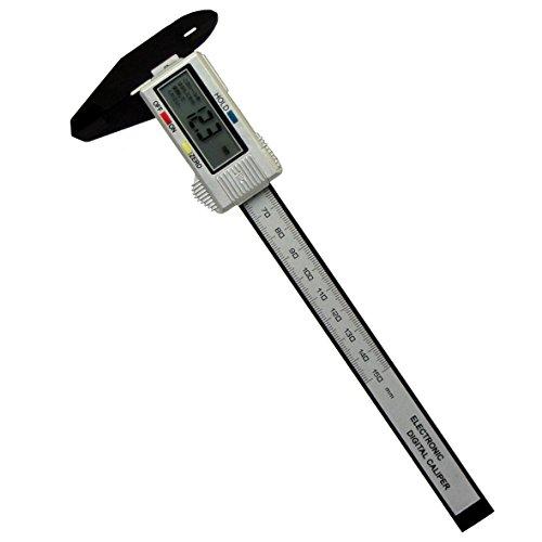 M&M デジタルノギス カーボンファイバー 150mm DCN-150