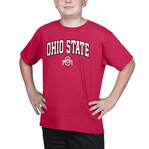 Top of the World Ohio State Buckeyes Kid's Team Color Short Sleeve Tee, X-Large