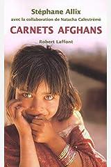 Carnets afghans Broché