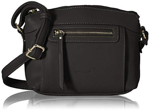 TOM TAILOR Damen Ariane Cross bag, black, S