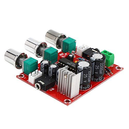 Chip de pequeño volumen Tecnología bipolar Alta confiabilidad 2 canales Placa amplificadora de tono BBE Placa de tono XR1075 de bajo ruido para amplificadores mejorados Altavoces