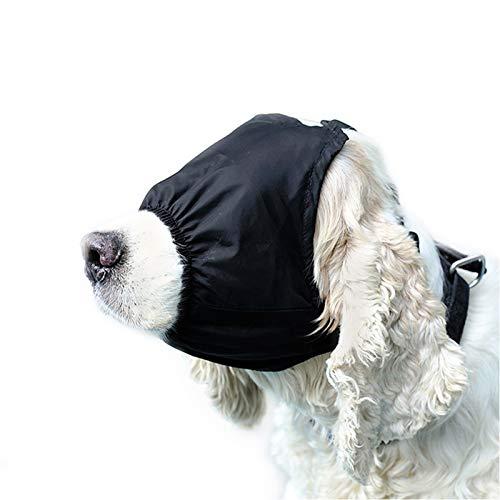 Yu-Xiang Dog Calming Cap Pet Eye Mask Nylon Shading Anxiety Mask Muzzle Dog Blindfold for Grooming Anti Bite Anti Car Sickness (s) Review