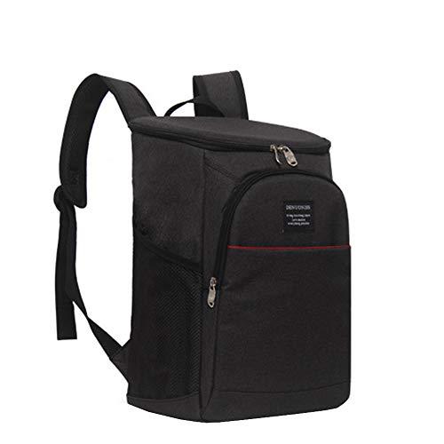 Outdoor hiking backpack Sac de Pique-Nique extérieur, Sac Isotherme imperméable de 18 litres Sac à vin Sac à Lunch de Grande capacité, Convient à l'école au Bureau aux Loisirs Barbecue en Plein air
