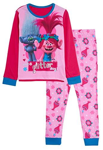 Trolls Conjunto de 2 pijamas para niñas...