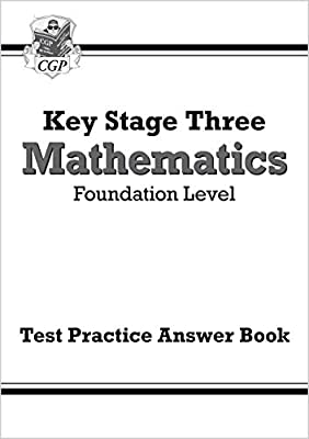 KS3 Maths Answers for Test Practice Workbook - Foundation (CGP KS3 Maths) by Coordination Group Publications Ltd (CGP)