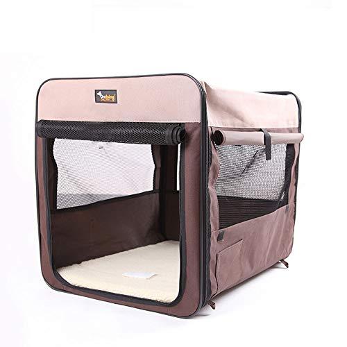 BXGZXYQ Multifunktionales zusammenklappbares atmungsaktives tragbares Haustier-Hundebett Autotransport-Hundekäfig-Haustierkäfig-Hundehütte-Couch-Haustierbett für Hunde Deluxe-Haustierbetten Ideal für