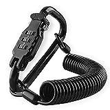 180cm Candado Casco Moto Antirrobo Casco Moto Guardar Cascos Moto Candado Bicicleta Candado Cable Candado Combinación