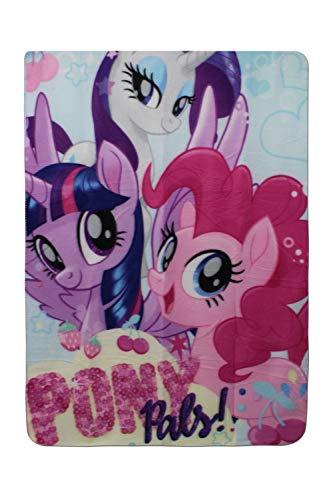 Setino 821-327 My Little Pony Pony Poncho de Bain /à Capuche pour Enfant 55 x 80 cm