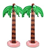 Feli546Bruce Outdoor Toys, Inflatable Jumbo Coconut Palm Tree Toy Tropical Party Beach Decor Photo Props