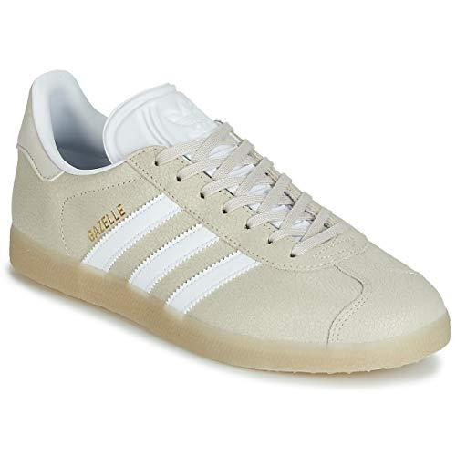 adidas Originals Gazelle Sneaker Damen Beige Weiss