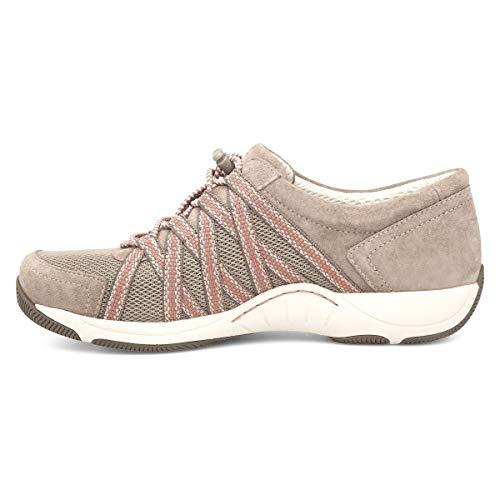Dansko Women's Honor Walnut Suede Comfort Shoes 6.5-7 M US