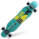 YSCYLY ComplèTe Pro Skateboard Deck,Planche Longue Road Dance Board,pour Enfants IdéAls pour DéButants