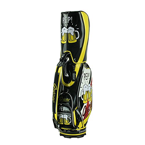 Great Price! Guiote PU Leather Cheers Staff Golf Bag