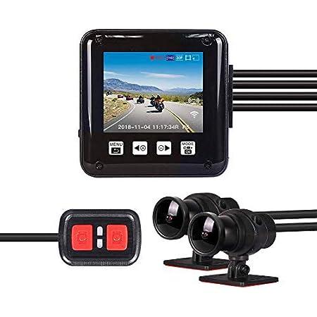 Blueskysea Motorrad Dash Cam Kamera Dv988 Pro 1080p Elektronik
