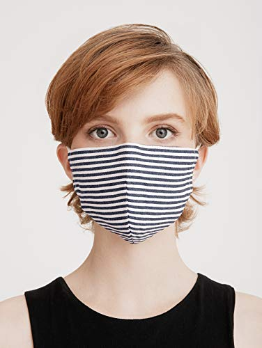 Paisie Unisex Reusable Washable Breathable Non-Surgical Cotton Face Mask/Face Cover, with Filter Option, Adjustable Nose…
